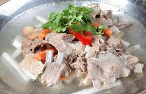 果蔬百科羊骨羊腰汤的功效与做法